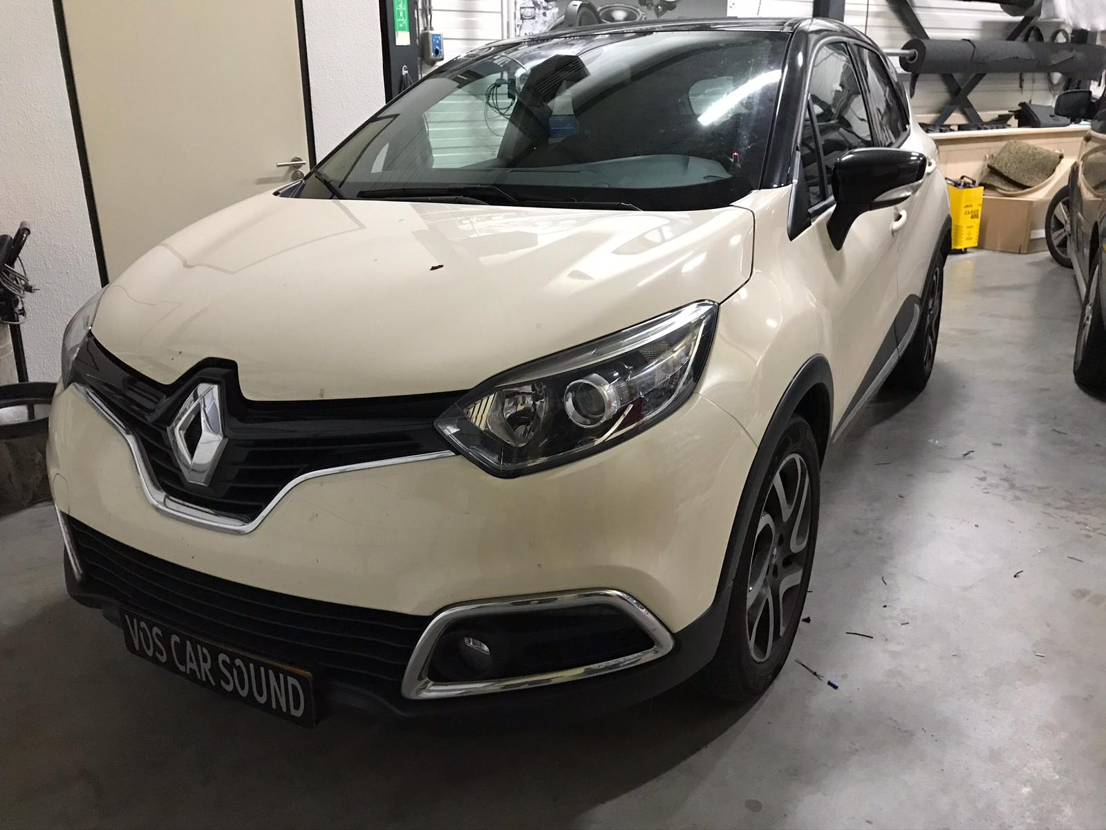 Renault qaptur - Alarmssysteem